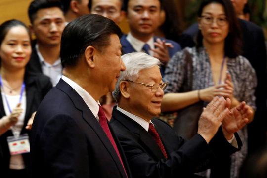 Tổng Bí thư, Chủ tịch Tập Cận Bình ăn sáng cùng Tổng Bí thư Nguyễn Phú Trọng - 1
