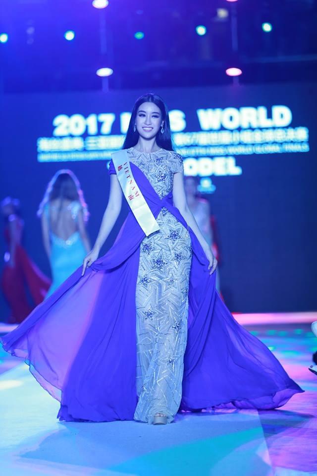 Loạt ảnh ít ỏi của Mỹ Linh tại Hoa hậu Thế giới 2017 - 1