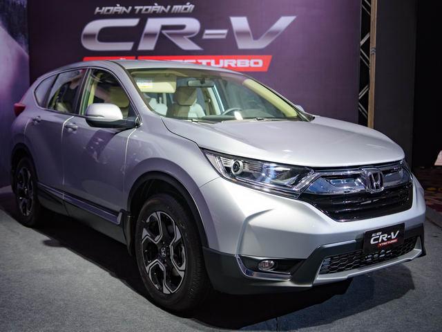 3 phiên bản Honda CR-V 2017 ở Việt Nam có gì khác biệt? - 1
