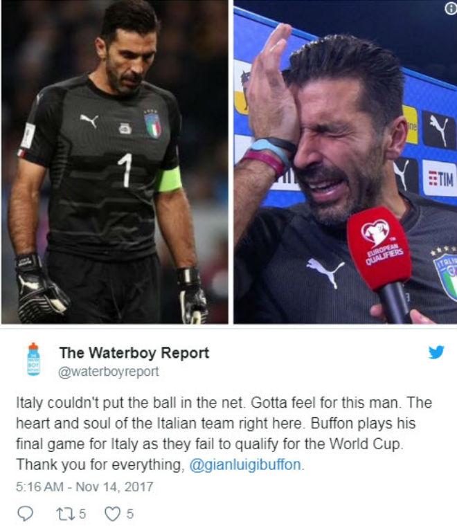 "Italia, Buffon lỡ World Cup: Triệu fan xót xa, ""cầu cứu"" Ancelotti - 1"