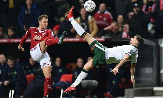 CH Ireland - Đan Mạch: Niềm tin từ bức tường thép (playoff World Cup) - 1