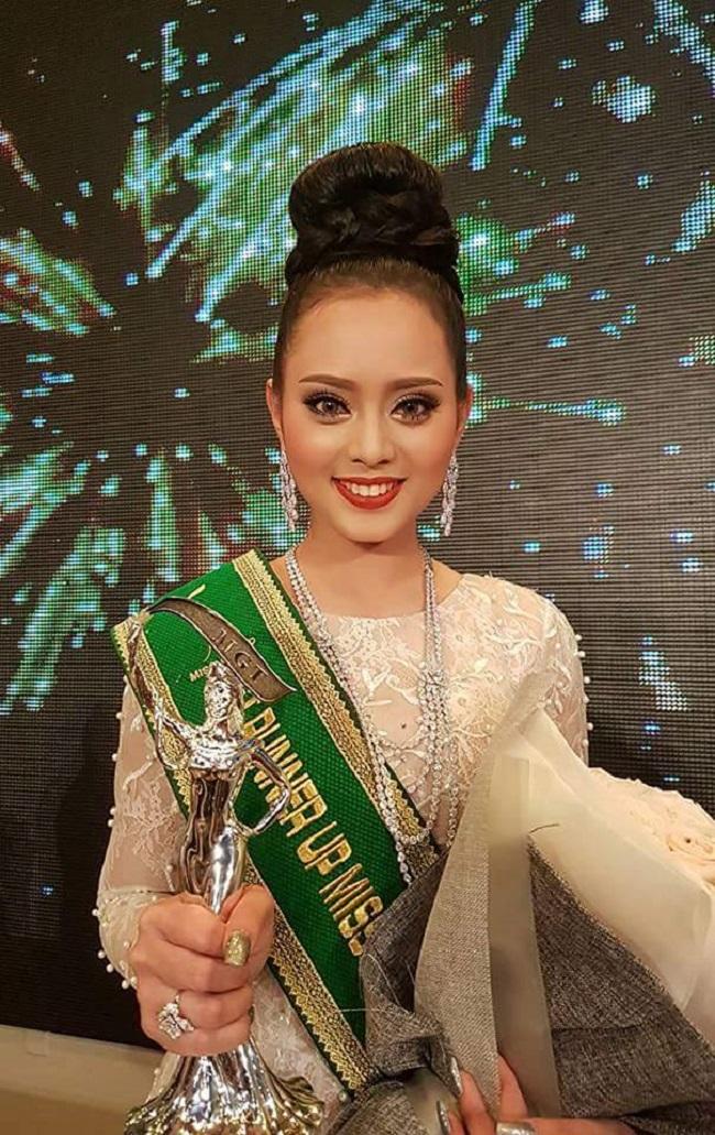 Cô nàng được báo chí trong nước và trong khu vực châu Á quan tâm khi dự thi sắc đẹp quốc tế.