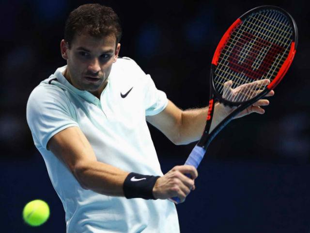 Dimitrov - Goffin: Kinh hoàng 75 phút cực hình (ATP Finals)