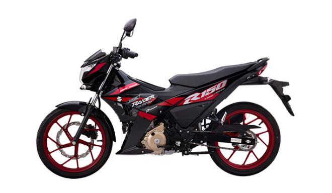 Quyết đấu Yamaha Exciter, Suzuki Raider ra màu mới - 1