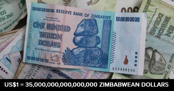 Đồng tiền trăm nghìn tỉ đô la Zimbabwe giờ ra sao? - 2