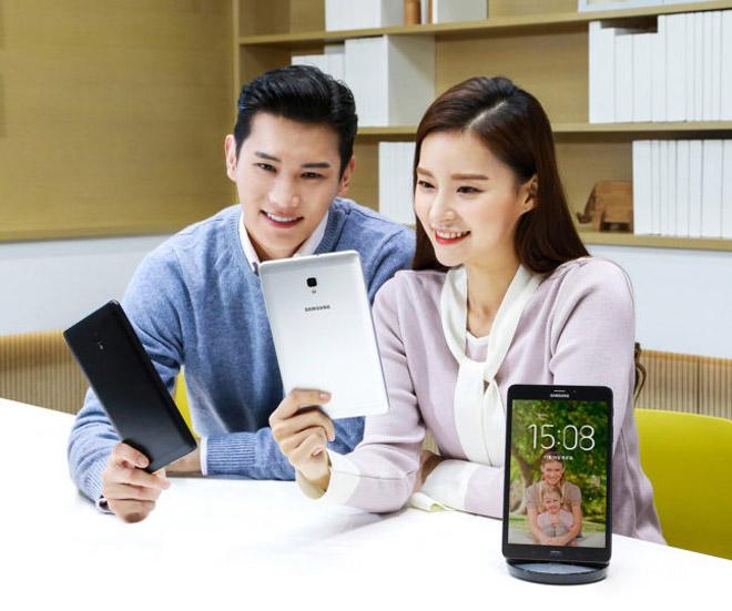 Samsung cho ra mắt Galaxy Tab A hỗ trợ Bixby Home - 1