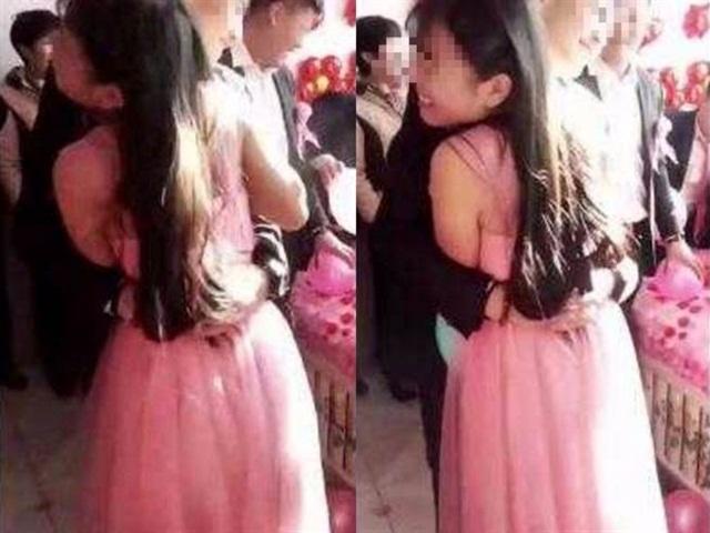 TQ: Chú rể ôm phù dâu xinh đẹp khiến cô dâu đòi hủy hôn trong đám cưới