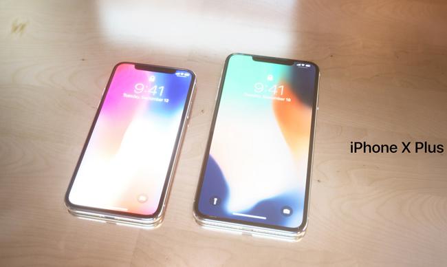 Chiếc iPhone X Plus của ông có màn hình lên tới 6,7 inch lớn hơn khá nhiều so với phiên bản iPhone X (màn hình kích thước 5,8 inch) hiện hành của Apple.