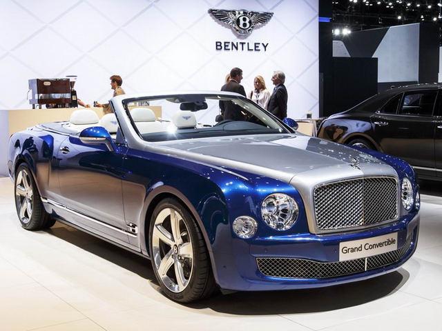 Bentley Mulsanne Convertible đặc biệt giá 80 tỷ đồng - 1