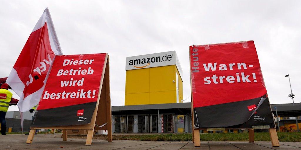 Hơn 500 công nhân Amazon đình công để được nhận thêm lương vào ngày Black Friday - 1