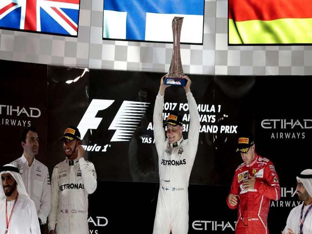 """Đua xe F1, Abu Dhabi GP: """"Người Phần Lan bay"""" và cú hattrick lịch sử"""