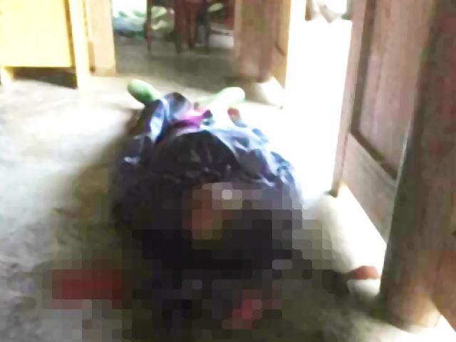 Nữ chủ nhà chết bất thường với nhiều vết chém trên mặt