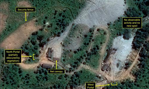 Động đất bất thường gần bãi thử hạt nhân Triều Tiên - 1