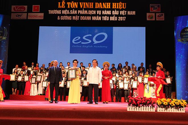 ESO vinh dự đạt top 100 thương hiệu sản phẩm dịch vụ hàng đầu Việt Nam. - 1