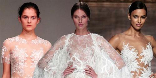 Nàng dâu diện váy cưới như cởi trần liệu có khiến quan khách giật mình? - 1