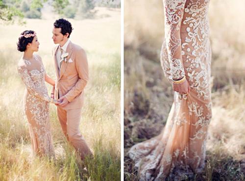 Nàng dâu diện váy cưới như cởi trần liệu có khiến quan khách giật mình? - 10