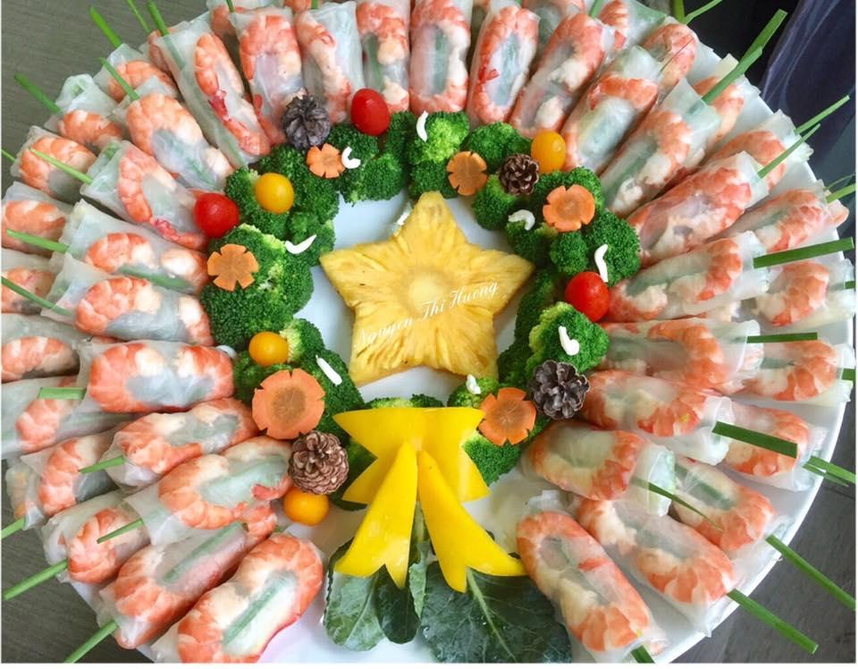 Ngắm hoài không chán những món ăn Noel đẹp lạ của mẹ Việt ở Malaysia - 1