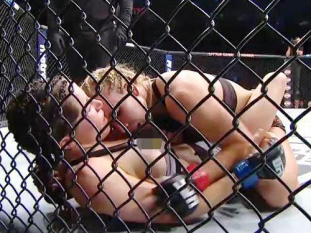 """Người đẹp UFC bị """"tai nạn nhạy cảm"""": Không mê võ chỉ mê tiền?"""