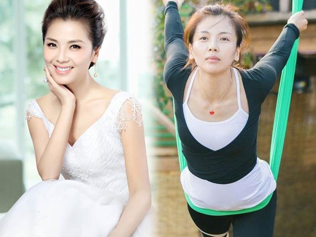 """""""A Châu"""" Thiên long bát bộ trẻ như gái 18 nhờ yoga bay lượn"""
