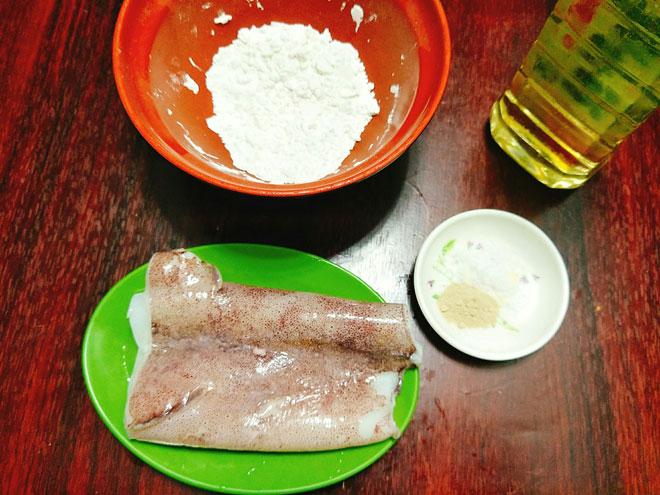 Cách làm mực tẩm bột chiên giòn đảm bảo ăn một lần là mê - 2