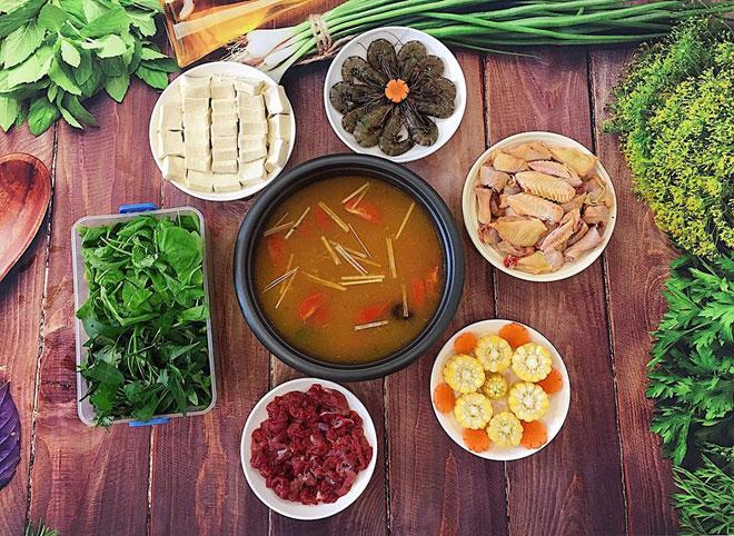 Xuýt xoa lẩu thái thập cẩm chua cay ngon sôi sục dạ dày - 1