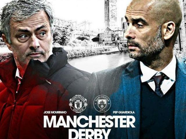 """MU đại chiến Man City: Pep """"giả nai"""", Mourinho chờ """"bắt bài"""""""
