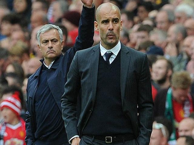 """MU – Man City đại chiến 650 triệu bảng: Pep """"súng 4 nòng"""", Mourinho đánh phủ đầu"""