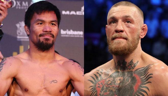 """Nóng boxing tỷ đô: Đại tá Pacquiao chiến """"Gã điên"""" McGregor - 1"""