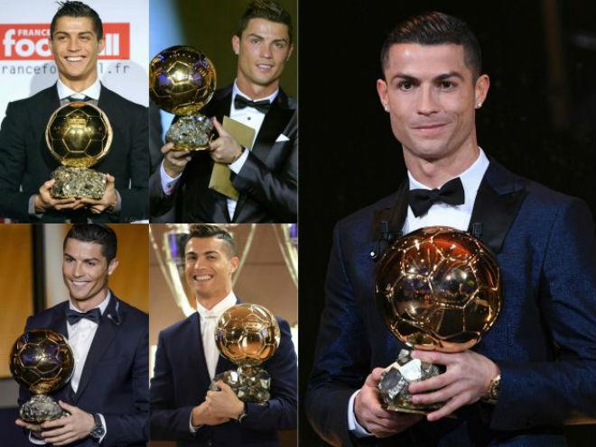 Ronaldo 5 bóng Vàng, tuyên bố vô đối: Tự kiêu hay sự thật hiển nhiên - 1
