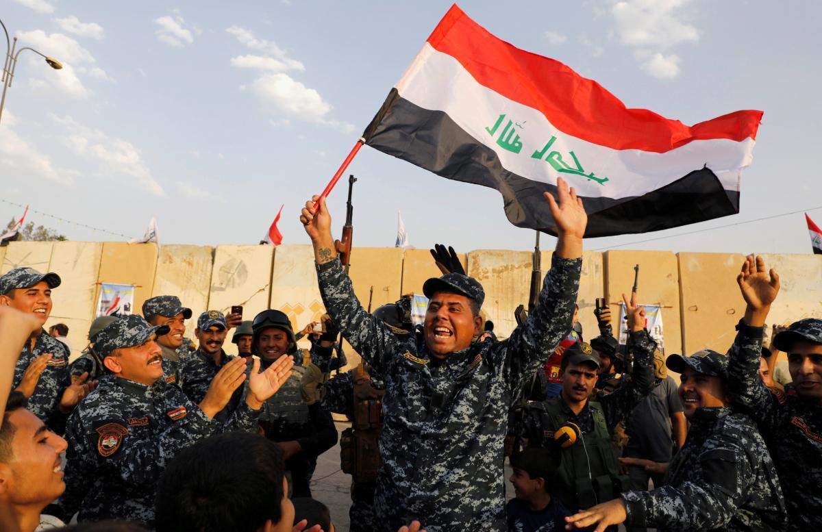 Iraq tuyên bố đánh bại hoàn toàn khủng bố IS - 1