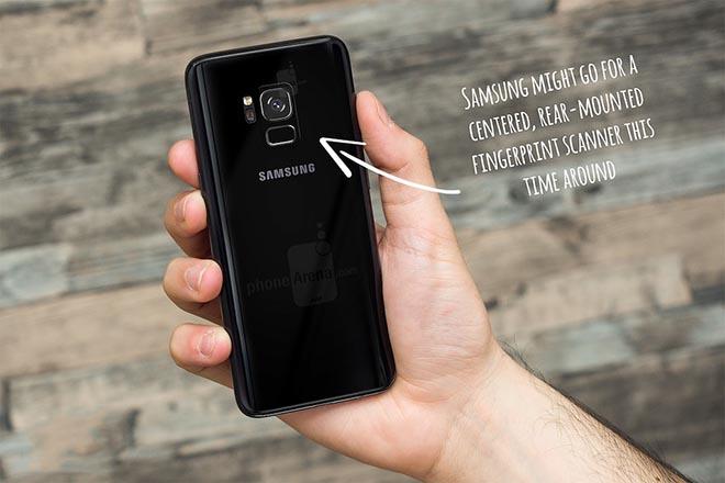 Ứng dụng Health mới cho thấy Galaxy S9 có vị trí máy quét vân tay mới - 1
