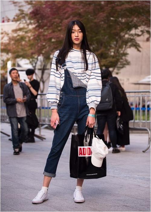 Đầu đông, con gái Hàn mặc style thể thao cực đẹp - 7