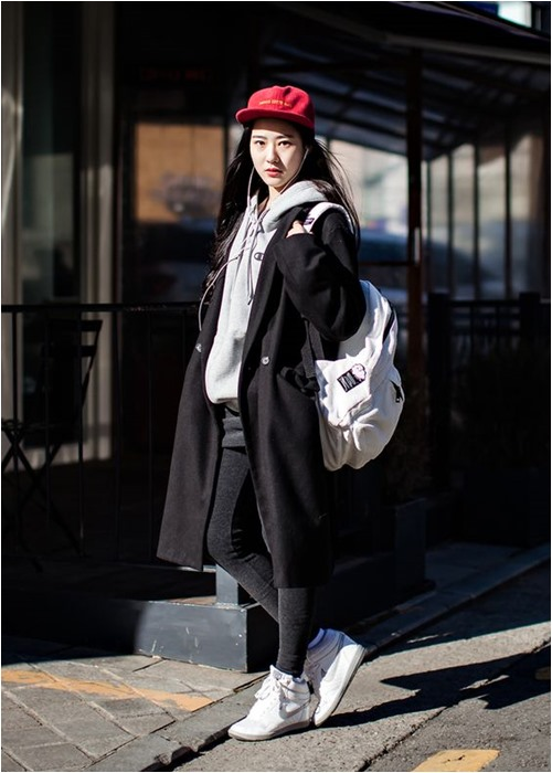 Đầu đông, con gái Hàn mặc style thể thao cực đẹp - 10