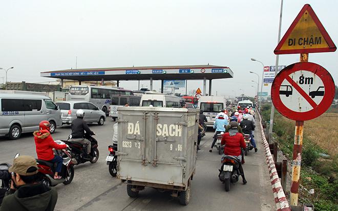 Sau Cai Lậy, tài xế tiếp tục trả tiền lẻ qua BOT Quốc lộ 5 - 1