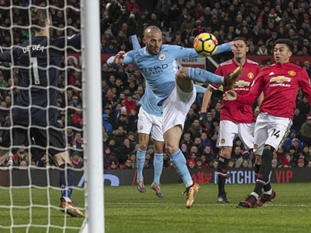"""Tổng hợp Ngoại hạng Anh V16: Lukaku """"kiến tạo"""", Man City vô địch lượt đi"""