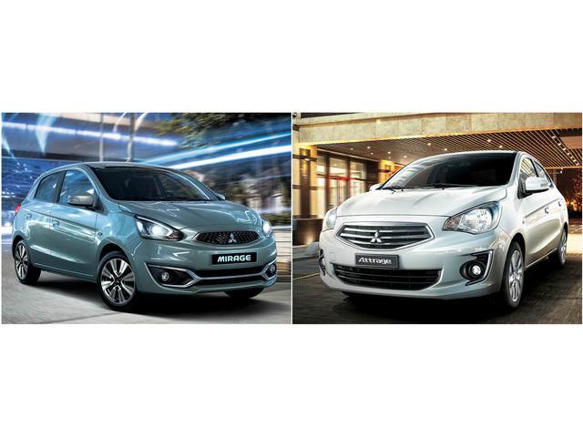 Bản Eco giá rẻ của Mitsubishi Mirage và Attrage có gì?