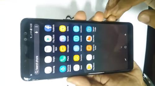 Video trên tay Galaxy A8 Plus (2018) rò rỉ, thiết kế cực đẹp - 1