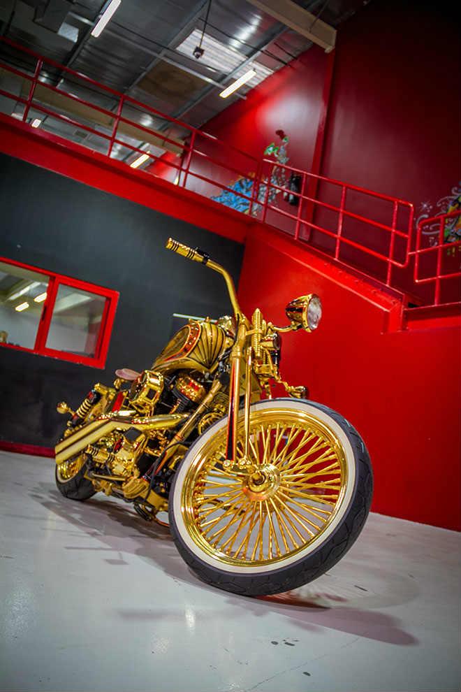 """Ngắm """"núi vàng di động"""" Harley Davidson Custom - 3"""