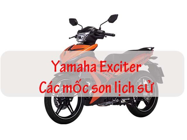"""Yamaha Exciter - những mốc son chuyển mình của """"vua côn tay Việt Nam"""""""