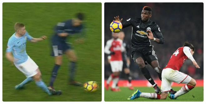 """""""Chặt chém"""" rợn người như Pogba, SAO Tottenham vẫn thoát thẻ đỏ - 1"""