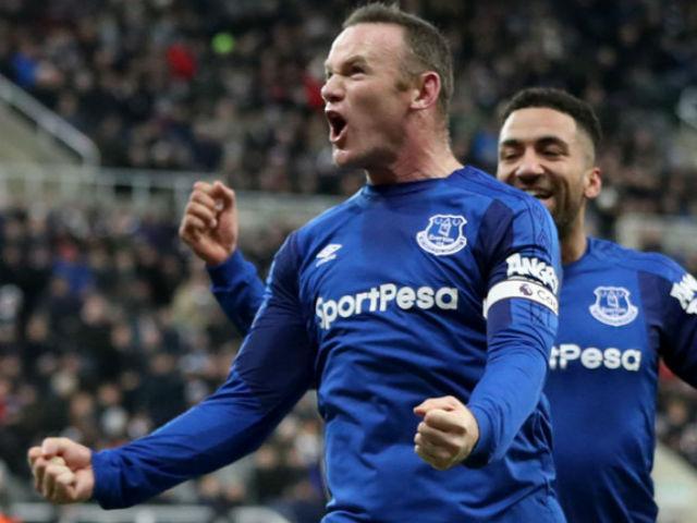 """Rooney """"bung lụa"""" ghi bàn: MU – Mourinho có tiếc khi """"đổi"""" Lukaku?"""