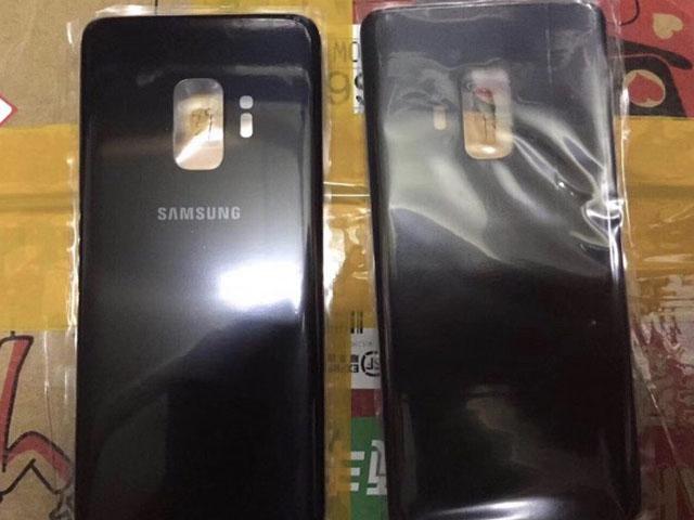 Hình ảnh mặt sau Galaxy S9 cho thấy sự thất vọng về camera
