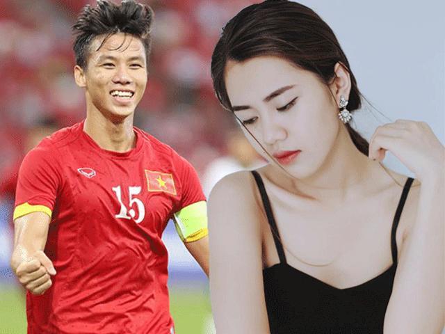 """Cô gái đẹp nhất thành Vinh """"đốn tim"""" trung vệ Quế Ngọc Hải"""