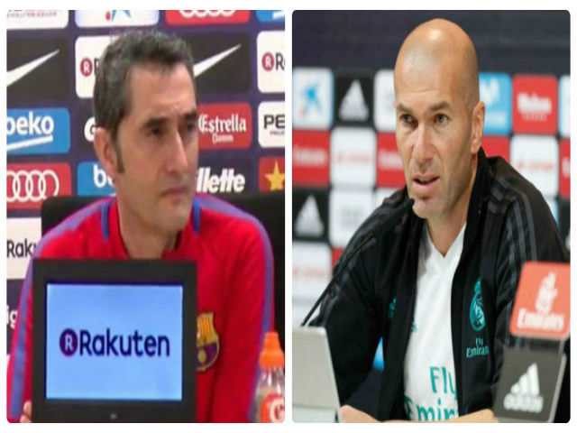Họp báo Siêu kinh điển Real - Barca: Valverde chưa quên thất bại ở siêu cúp TBN