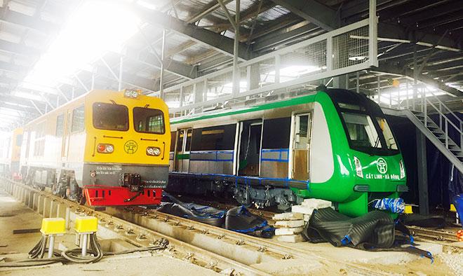 Không thể lùi mãi ngày hoàn thành tuyến đường sắt Cát Linh - Hà Đông - 1