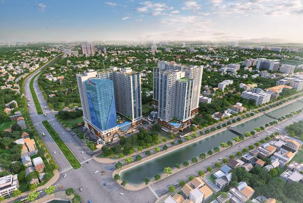 Bất động sản khu Nam Hà Nội tăng sức hút nhờ hạ tầng - 1