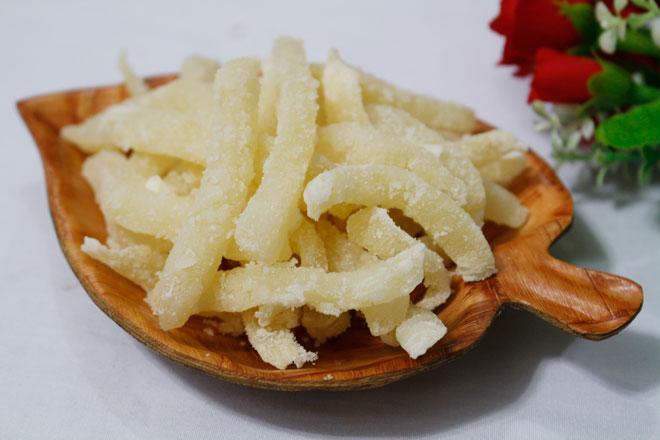 Cách làm mứt củ đậu lạ miệng, ngọt mát siêu đơn giản - 1