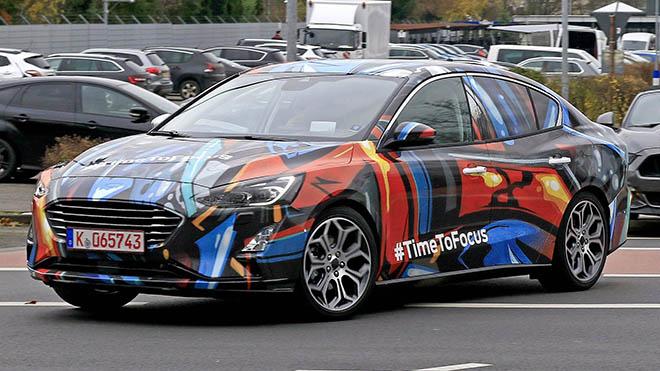 Ford Focus thế hệ hoàn toàn mới đã lộ diện - 1