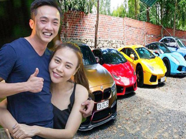 Cường Đô La công khai gọi Đàm Thu Trang là vợ, khoe dàn siêu xe trăm tỷ