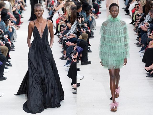 Váy áo đẹp đúng nghĩa của Valentino thỏa lòng phụ nữ